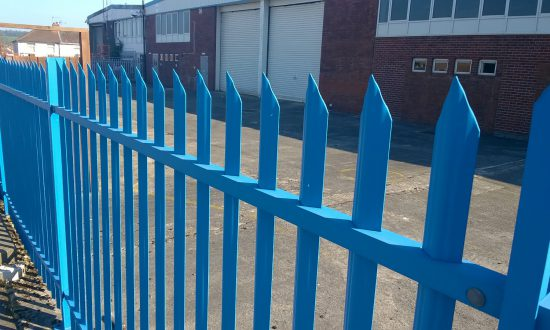 A Lochrin Classic fence.