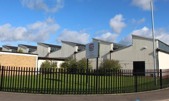 The Lochrin Bain factory in Cumbernauld.