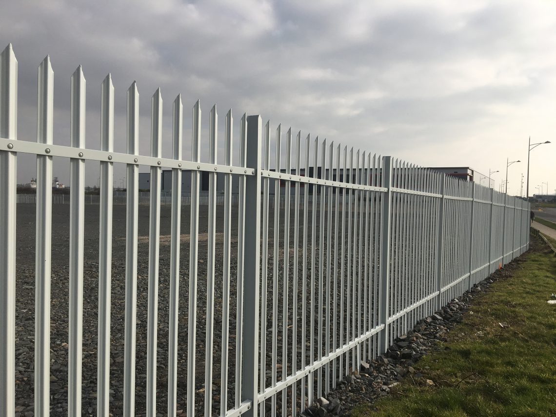 Lochrin Combi fencing used on a regeneration site.