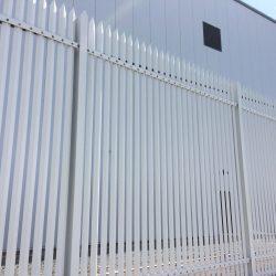 Lochrin Combi SL2 security fencing.