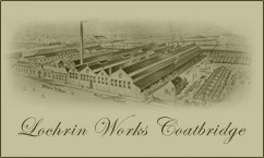 The Lochrin Iron Works in Coatbridge.