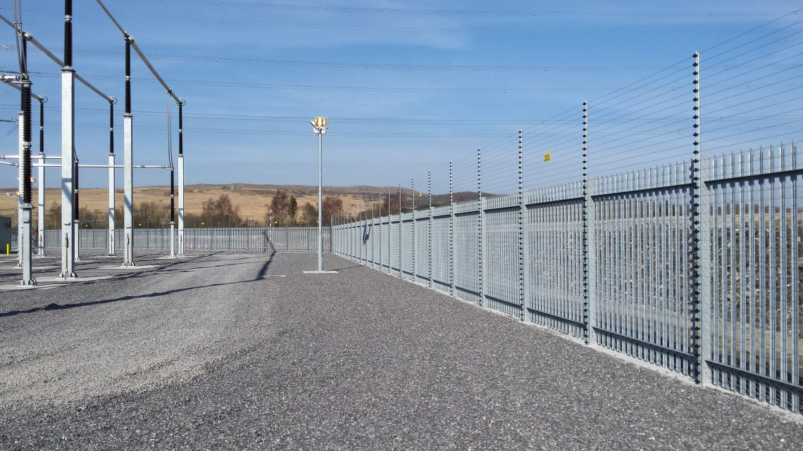 Lochrin Palisade Utility Specification Fencing