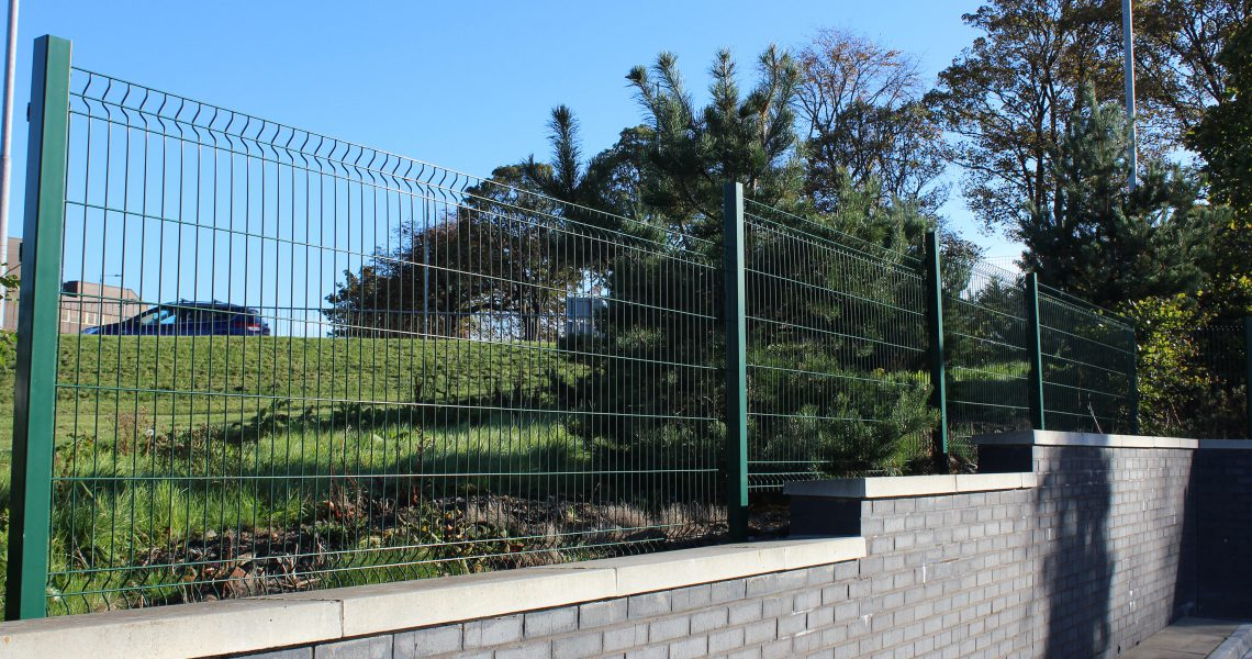 The Lochrin WaveGUARD fencing system.