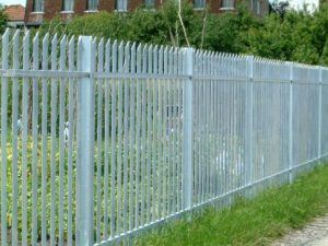 A Rivetless Classic Palisade fence.