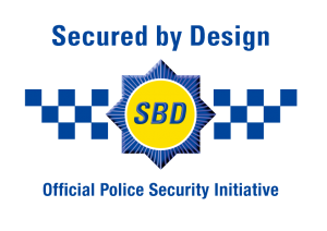 The Secured by Design logo.