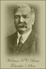 A photograph of William P.C Bain.